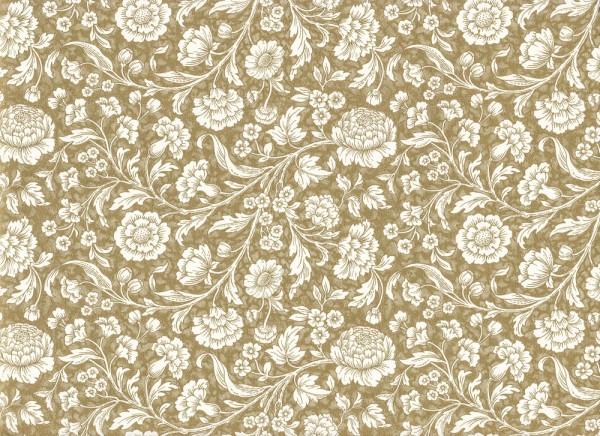 Wiesenblumen gold - Carta Varese Papier