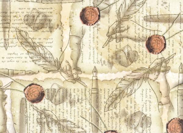 Ceralacca - Geschenkpapier Italien