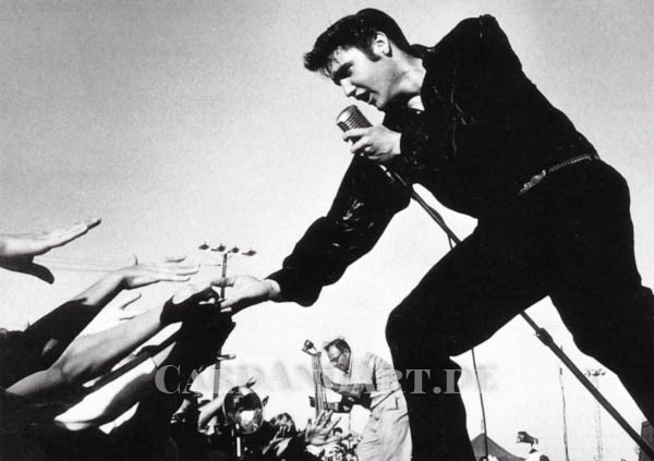 Elvis Presley: Tupelo Mississippi - Postkarte