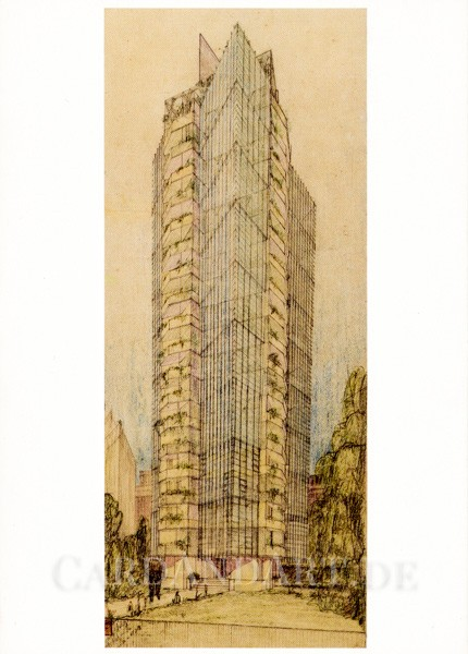 Wright, Frank Lloyd - St. Mark´s in The Bouwerie Towers, New York - Postkarte