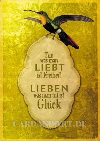 Goldvogel - PosterCard