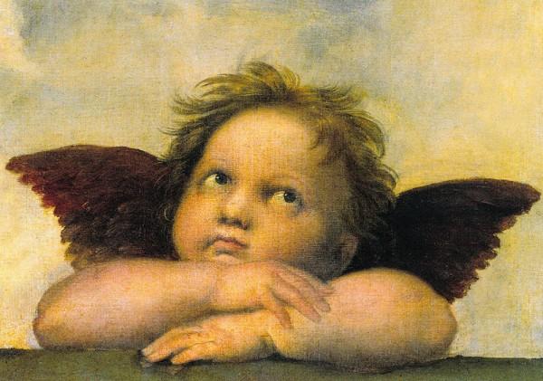 Raffael: Engel - Postkarte