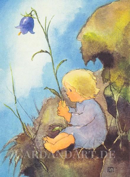 Mili Weber: Mein Glöckchen - Postkarte
