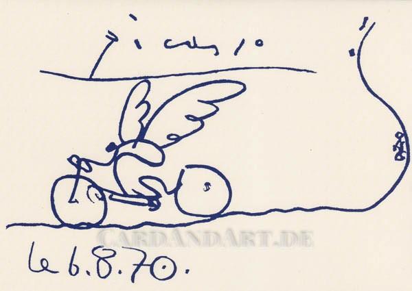 Picasso Pablo: Cyclist - Doppelkarte