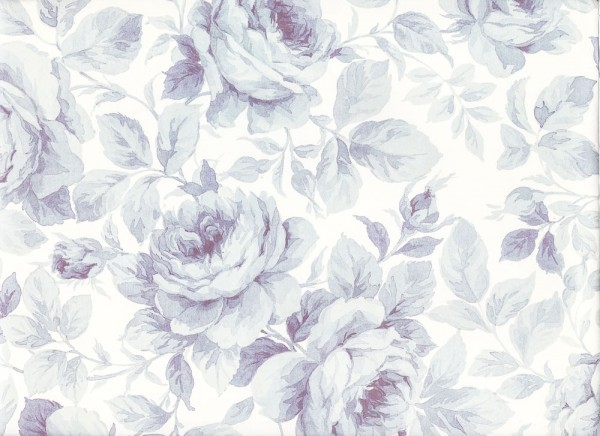 Blaue Rose - Geschenkpapier