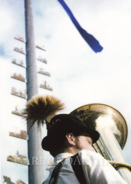 Tuba - Postkarte