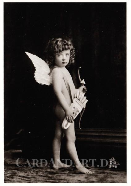 Engel - Cupid - Postkarte