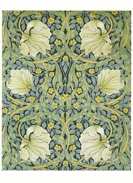 William Morris: Pimpernel - Postkarte
