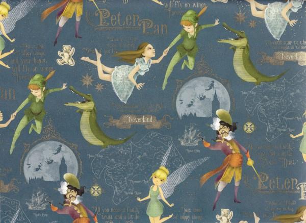 Peter Pan - Geschenkpapier