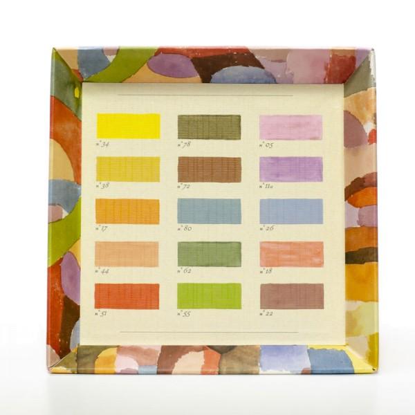 Une palette de Paul Klee - Schale 18 cm x 18 cm