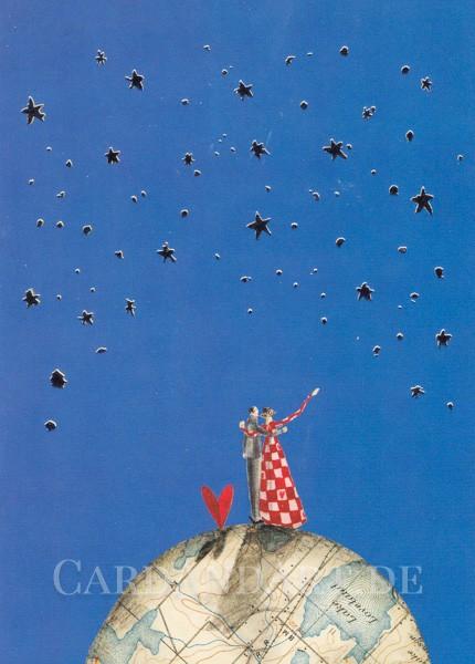 Love Love - Postkarte Silke Leffler
