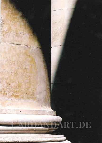 Licht und Schatten - Postkarte