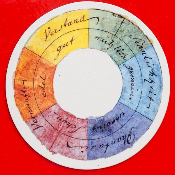 Goethe J.W. Farbenkreis - Magnet