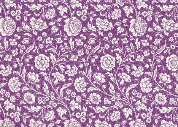 Wiesenblumen lila - Carta Varese Papier