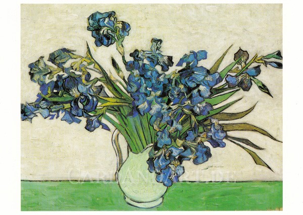 Vincent van Gogh: Iris - Postkarte