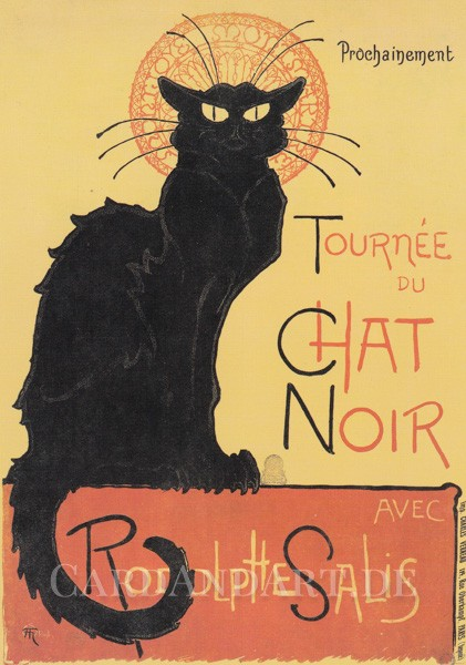 Tournée du Chat Noir - Postkarte