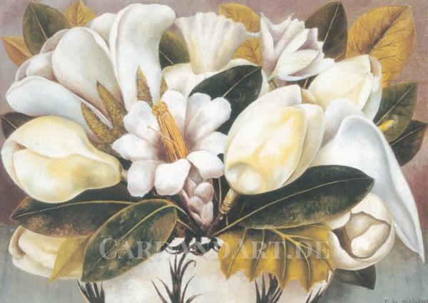 Kahlo Frida: Magnolien - Postkarte