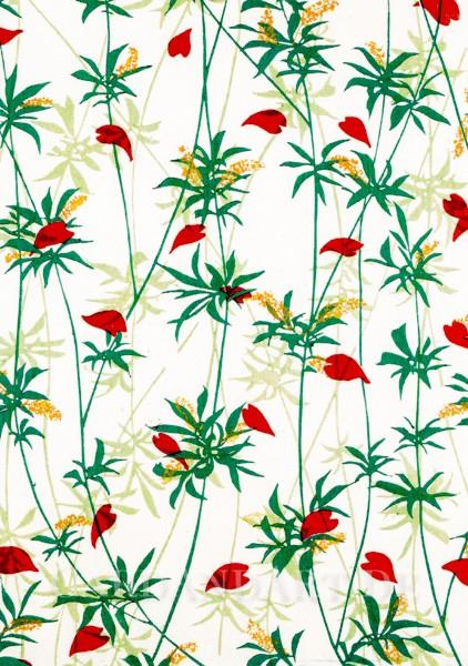 Hirsch Olga: Blumenmotiv - Postkarte