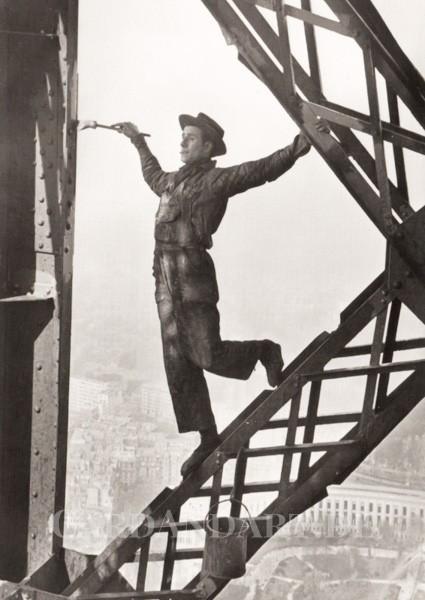 Eiffelturm 1953 - Postkarte