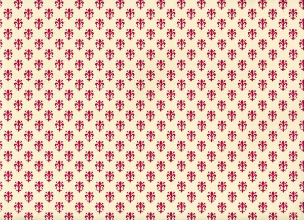Lilie rot - Carta Varese Geschenkpapier