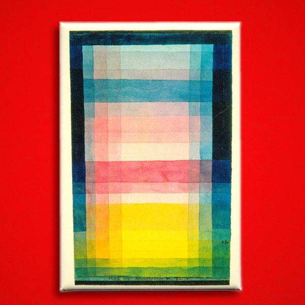 Klee Paul, Architektur der Ebene - Magnet