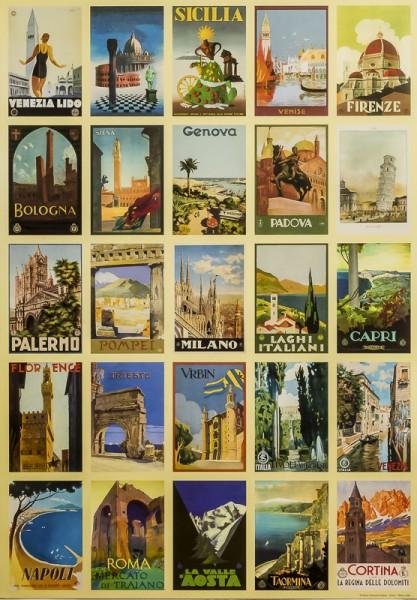 Cartoline D'Italia - Poster