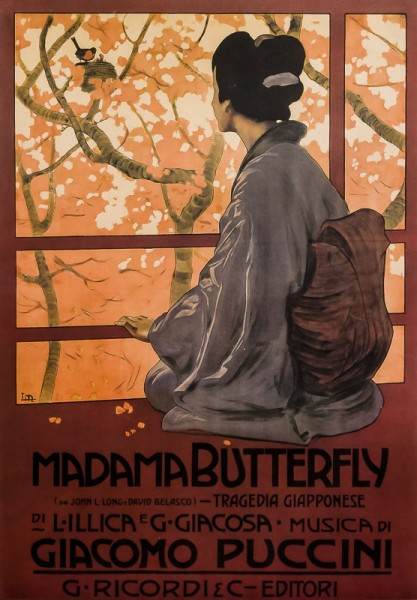 Madame Butterfly - Poster