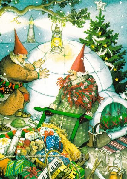 Inge Löök: Weihnachten im Iglu - Postkarte Nr. 18