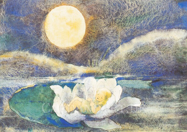 Mili Weber - Kinderträume - Postkarte