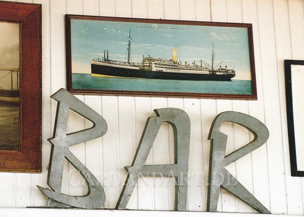Bar de l´Escale - Postkarte