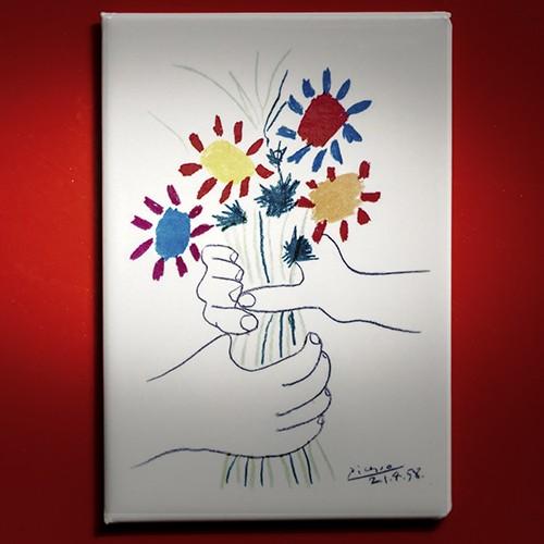 Picasso, Bouquet de fleurs - Magnet
