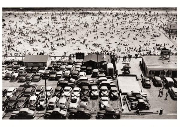 Santa Monica Beach - Postkarte