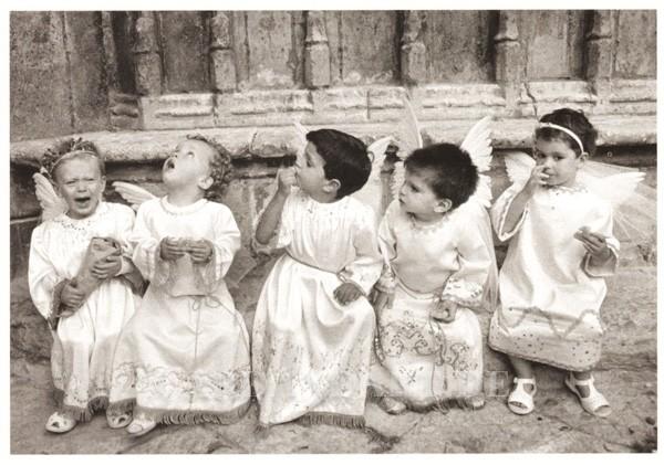 Engelchen oder Bengelchen - Postkarte