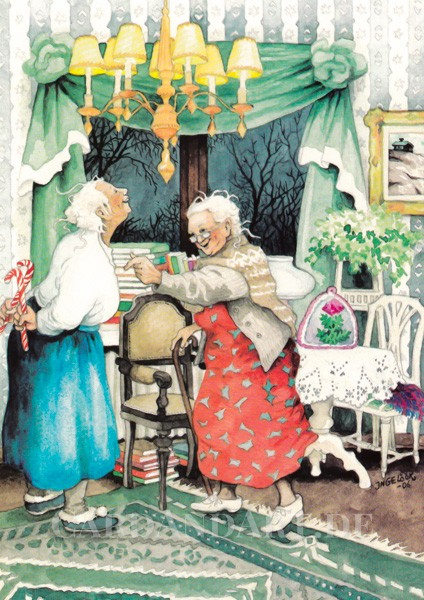 Inge Löök: Wo ist die Zuckerstange? - Postkarte Nr. 7
