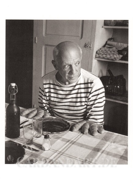 Picasso and the Loaves - Postkarte