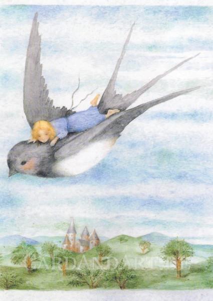 Kaarina Kaila: Däumelinchen - Postkarte