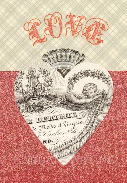 Love - Postkarte