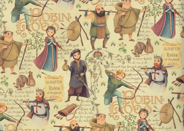 Robin Hood - Geschenkpapier