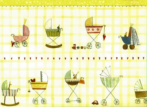 New Baby - Geschenkpapier von Silke Leffler