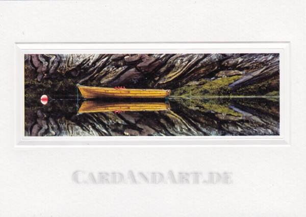 Ruderboot - Doppelkarte