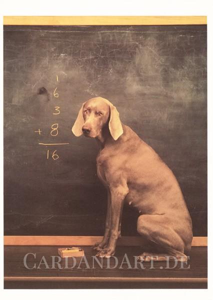 Arithmetic - Postkarte