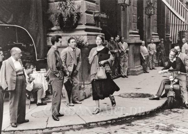 American Girl in Italy - Postkarte