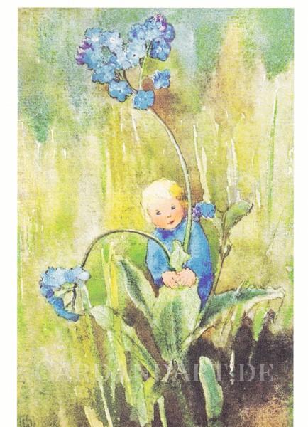 Mili Weber - Vergissmeinnicht - Postkarte