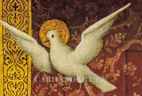 Weisse Taube - Doppelkarte