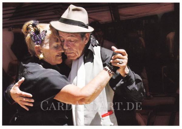 Tango is life - Postkarte