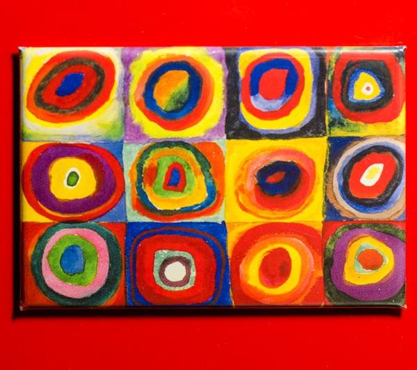 Kandinsky, Wassily Farbstudie - Magnet