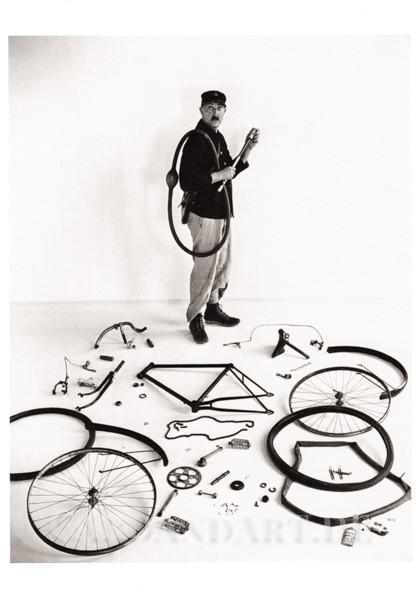 Jacques Tati, 1949 - Postkarte